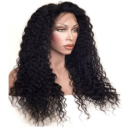 China 150% Heavy Density Afro Kinky Curly Synthetic Lace Front Wig Heat Resistant Fiber Lace Front Wig for Women Black Color Synthetic Wigs supplier afro kinky lace wigs suppliers