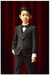 Royal Performance Suits Australia - Children's suit three-piece suit, suitable for dancing performance, can be used as show dress, can be worn daily