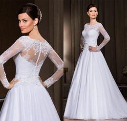 52bb41e6a 2018 Nuevo vestido de novia de encaje blanco   marfil Vestido de novia  Tamaño 4 6 8 10 12 14 16 18 ++