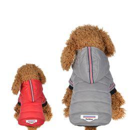 Cachorro Casaco de Inverno Roupas de Cachorro Quente Pet Dog Jacket Filhote de Cachorro Roupa Chihuahua Hoodies Para Pequeno Médio Cães Yorkshire Filhote de Cachorro Engrosse Outfit em Promoção