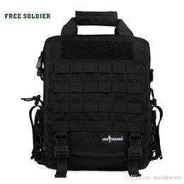 9e178d214d17 FREE SOLDIER Outdoor Tactical backpack Men women camping hiking travel  backpack 14 inch laptop bag single shoulder military bags