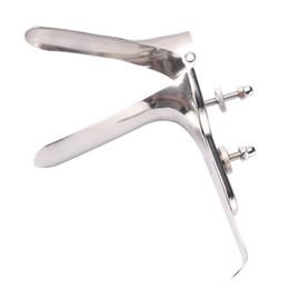 Venta al por mayor de Metal Anal espéculo Bondage médico ajustable de acero inoxidable Dilatador vaginal BDSM Bondage juguetes sexuales para mujeres