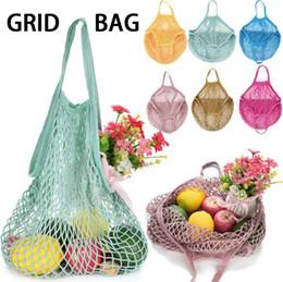 $enCountryForm.capitalKeyWord Canada - Mesh Net Bag String Shopping Bag Reusable Fruit Vegetables Storage Handbag Totes Mesh Woven Shoulder Bag OOA5345