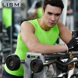 $enCountryForm.capitalKeyWord Australia - Compression Tights Gym Tank Top Quick Dry Sleeveless Sport Shirt Men Gym Clothing For Summer Cool Men's Running Vest