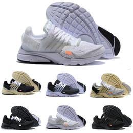 online retailer d8a79 1c223 2018 Nouveau nike air max Off White Presto V2 Ultra BR TP QS Noir Blanc X  Chaussures de Course Pas Cher Sport Femmes Hommes a Prestos de Basketball  Sneakers