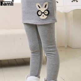 b08972aa466d32 Warm Fleece Leggings Girls Canada - 3Y-12Y Girls Winter Skirt Leggings  Children Winter Warm