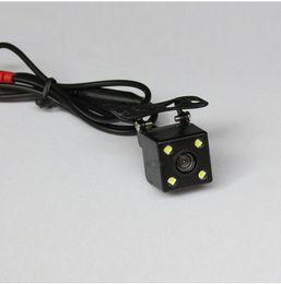 Camera vision light online shopping - 100pcs LED lights Reversing camera HD universal adjustable with ruler CCD night vision waterproof car reversing rear view camera image