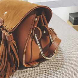 ... houlder Bags Faux Suede Fringe Bag Women Handbags Purse Fashion Small  Tassel Bag Retro Women Messenger ... fd82530e8b