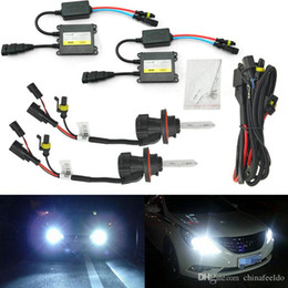 $enCountryForm.capitalKeyWord NZ - wholesale 35W AC Car Headlight H13 HID Xenon Bulb Hi Lo Beam Bi-Xenon Bulb Light Digital Slim Ballast HID Kit #4534