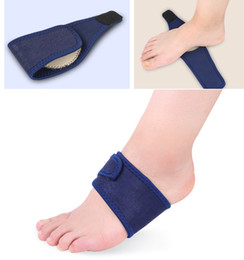 $enCountryForm.capitalKeyWord NZ - Sports running or military training silicone cushion arch support bandage sweat absorbent unisex foot pad blue