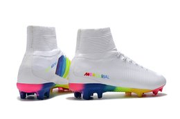 $enCountryForm.capitalKeyWord UK - Rainbow 100% Original Soccer Cleats Mercurial Superfly V FG Soccer Shoes