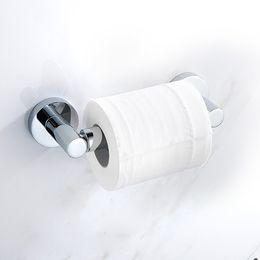 $enCountryForm.capitalKeyWord UK - Bathroom Shelves Silver 304 Stainless Steel Roll Paper Rack Shelf Wall Mounted Bathroom Paper Holder Hook Toilet Tissue Bar Holder