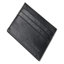 Easy card wallEt online shopping - Fashion Retro Men Leather Clutch Billfold Credit ID Card Slim Purse Wallet Purse wallet men wallets easy to carry