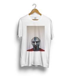 MF DOOM T-SHIRT - Mad Villain, Hip Hop, Rap Dilla Fashion Mens manga corta barata venta O cuello camiseta envío gratuito en venta