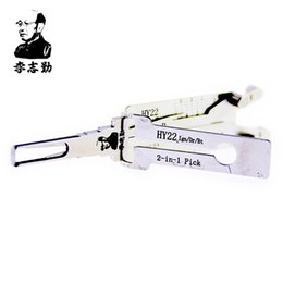 mr tools NZ - Mr. Li's Original Lishi HY22 2in1 Decoder and Pick - Best Automotive Locks Unlock Tools on the Market