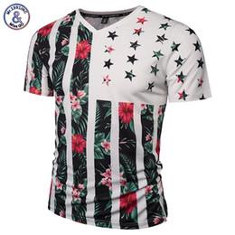 92b8cd57f Mr.1991INC USA Flag Flowers T-shirt Men Women Fashion Brand Tshirt Print  Skulls Trees V-neck Summer T shirt Tops Tees