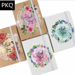 $enCountryForm.capitalKeyWord UK - 12pcs, Thank you flower pattern Schedule Book Diary Weekly Planner Notebook School Office Supplies Kawaii Stationery A5 A6 A7