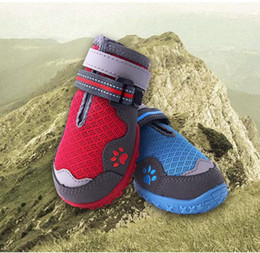 China Small Medium Large Sizes Outdoor Dog Shoes For Sports,Pets Shoes For Dogs Mountain Wearable Non-slip Soles Waterproof Reflective supplier mountains shoes suppliers