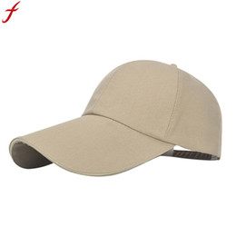 2018 Baseball Cap Men Women Polyester Solid Color Adjustable Snapback Hat  Hip-Hop Cap Shade casquette homme marque dropship ff84a6239144