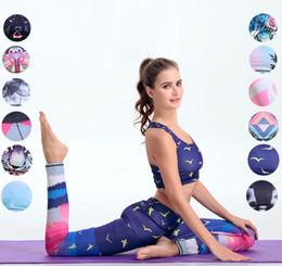 Discount long sports bras - Women Yoga Suit Outfits 12 colors Fitness Clothes Yoga Women Fitness Yoga Set Quick Dry Bra & pants Sport Sets Gym Runni