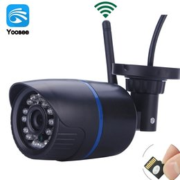 Onvif camera 2mp online shopping - Hamrolte Wifi Camera Yoosee ONVIF IP Camera MP MP MP Wired Wireless Night Vision Waterproof Outdoor Remote Access