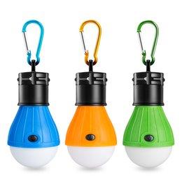 1pc Portable Emergency Camping Tent Soft Light Outdoor Hanging Sos 3 Led Lanters Bulb Fishing Lantern Hiking Energy Saving Lamp Portable Lanterns