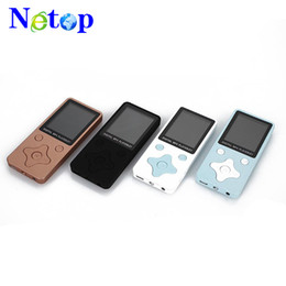 Thin mp4 player online shopping - Netop New T1 plug in MP3 ultra thin lightweight portable portable MP3 music player video MP4 MP3