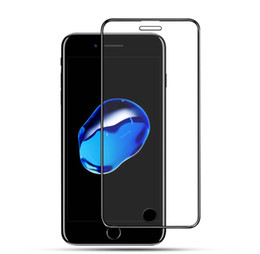 Discount small screen cell phones - Cell phone Full Screen Protector Film For iPhone X XR XS Max 6.5inch Small Edge Tempered Glass Film For Iphone 6 6S 7 8
