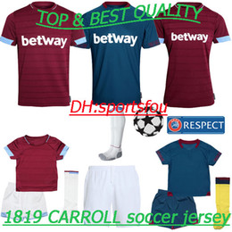 Thai premier league 18 19 soccer Jerseys CHICHARITO CARROLL SAKHO  ARNAUTOVIC J.MARIO Football jerseys shirt kids kit west ham united jersey 4009f3a95