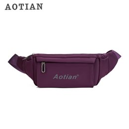 Single Shoulder Strap Packs NZ - Aotian Crossbody Bags For Men Messenger Waist Bag Pack Casual Bag Waterproof Nylon Single Shoulder Strap Pack 2018 New Fashion