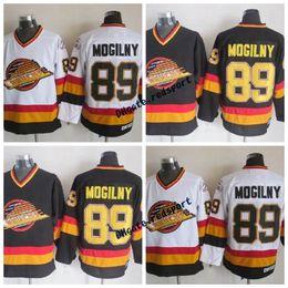 bc031a6ac 1994 Vancouver Canucks Alexander Mogilny Hockey Jerseys Vintage CCM 89  Alexander Mogilny Stitched Hockey Jerseys Mens Cheap