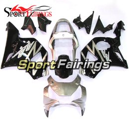 rr kit NZ - Silver Black Full Fairings For Honda CBR900RR 929 2002 2003 Year CBR900 RR 02 03 ABS Plastic Cowlings Bodywork Cowlings Fairing Kit Panels