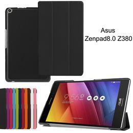 Asus rose online shopping - Magnetic Tri folding PU Leather Case for Asus Zenpad Z380 Z380C Z380KL Tablet Smart Cover