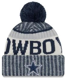 a96857f0ba Invierno DALLAS Beanie sombreros para hombres mujeres de punto Beanie lana  sombrero hombre Knit Bonnet gorros caliente gorra de béisbol