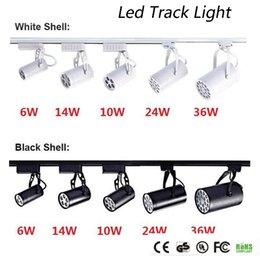 Ingrosso DHL CE RoHs UL LED Light Light 6W 10W 14W 24W 36W 120 ANGOLO ANGLE LED Spotletto a soffitto AC 85-265V LED Punto illuminazione