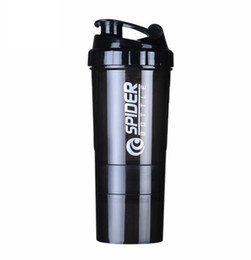 Chinese  Creative Protein Powder Shake Bottle Mixing Bottle Sports Fitness Kettle Protein Shaker Sports Water Bottle manufacturers