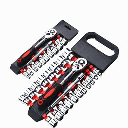 Screwdriver Tools 2019 Fashion Screwdriver Ratchet Wrench Socket Nut Spinner Portable Chrome Vanadium Steel Durable Hardware Precision Screwdriver Year-End Bargain Sale