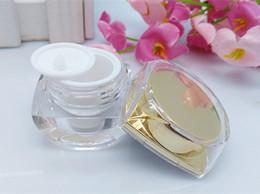 $enCountryForm.capitalKeyWord NZ - 10pcs lot,NEW Acrylic 5g 10g Mini high-grade Eye cream bottle Sample Cosmetic Case Cream Jar Lotion packing Bottle Container