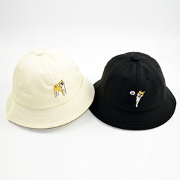 acc0c229ada13 Family Funeral Hat Summer Outdoor Sun Visor Hat Women s Cotton Embroidery  Doll Pot Korean Children s