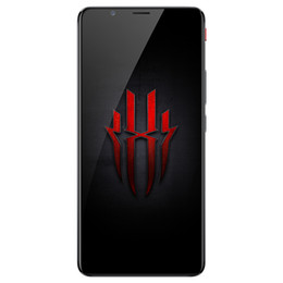 """Android Mobile 64gb UK - Original ZTE Nubia Red Magic 6GB RAM 64GB ROM 4G LTE Mobile Phone Snapdragon835 Octa Core Android 6.0"""" Full Screen 24MP OTG Smart Cell Phone"""