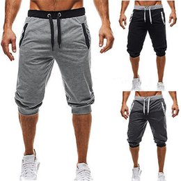 Mens capris wholesale online shopping - Mens Trousers Sweatpants Harem Pants Slacks Push Up Casual Sportwear Athleisure New Hot Casual Baggy Pants