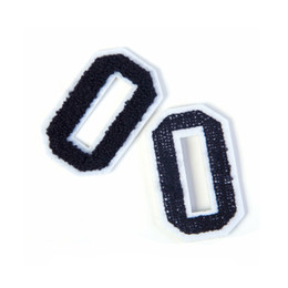 Embroidered Number Patches Australia - Digital Letter Number Embroidered Cloth Stickers Sports Arm Sleeves Accessories DIY Patch Stickers Embroidered Chapter DS0327 T03