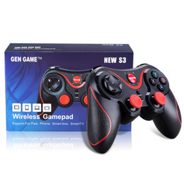 $enCountryForm.capitalKeyWord NZ - S3 Wireless Bluetooth Gamepad Game Joystick Gaming mini Controller for xiaomi Huawei Android Smartphone Tablet PC Gear VR