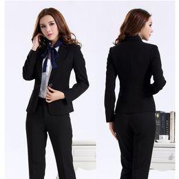 d6ffeb4ebda52 Ladies spring summer jackets online shopping - Custom Made Women suit dress  Black Women Ladies Business