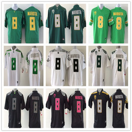 on sale d7cfe 49ffd australia oregon duck 8 marcus mariota black with pink ...