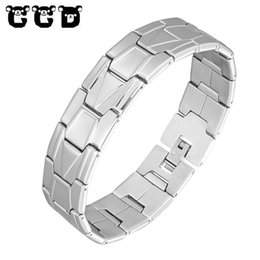 $enCountryForm.capitalKeyWord UK - High Quality Men's Stainless Steel Bracelet Men Charm Chain Paracord Bracelet Male Wrap Metal Sport Bracelets & Bangles Pulseras