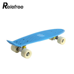 skateboard decks 2019 - Skate Board Deck Skateboard Pp 3color Portable Durable Practical Teenagers Single Warping Slide Longboard Hoverboard dis