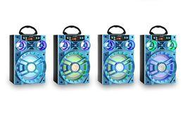 LED Móvil Multimedia MS-188BT Altavoz Bluetooth Inalámbrico Gran Unidad de Unidad Bajo Colorido Luz de Fondo FM Radio Reproductor de Música MOQ: 10 UNIDS en venta