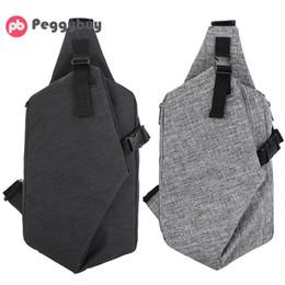 Single Shoulder Strap Packs Australia - Oxford Unisex Chest Pack Multifunctional Men Messenger Bag Korean Casual Travel Women Small Single Shoulder Strap Back Bags