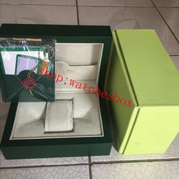 Top Mens Luxo Para Caixa de Relógio Caixa de Relógios Das Mulheres Dos Homens Externos Internos Originais Caixa de Relógio de Pulso venda por atacado